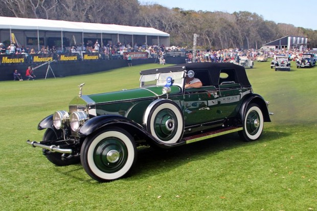 1930 Rolls-Royce Phantom I Hibbard and Darrin Transformable