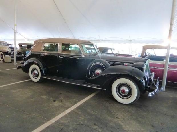 1939 Packard Twelve Touring Cabriolet, Body by Brunn
