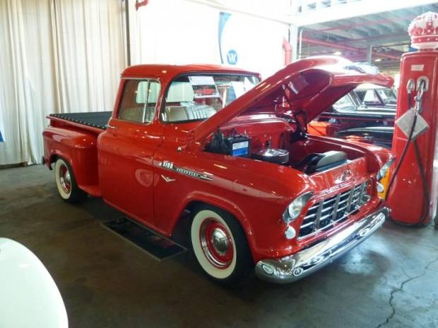 161 1955 Chevrolet 3100 California Stepside Pickup