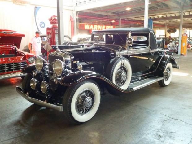 1931 Cadillac 370-A V12 Convertible Coupe