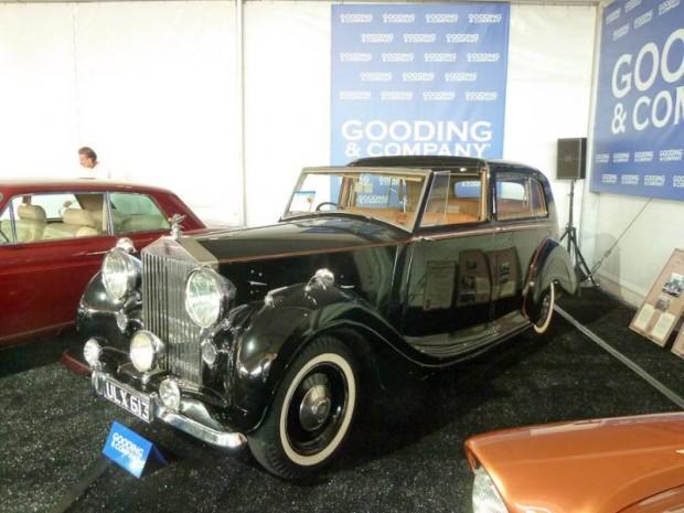 1949 Rolls-Royce Silver Wraith Sedanca deVille H.J. Mulliner