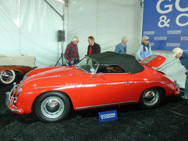 1957 Porsche 356A 1600 Super Speedster
