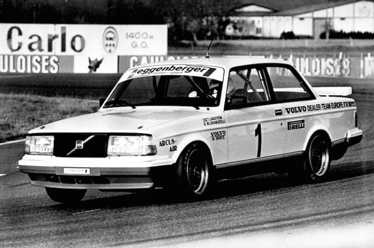 Volvo 240 Turbo in the European Touring Car Championship, 1985
