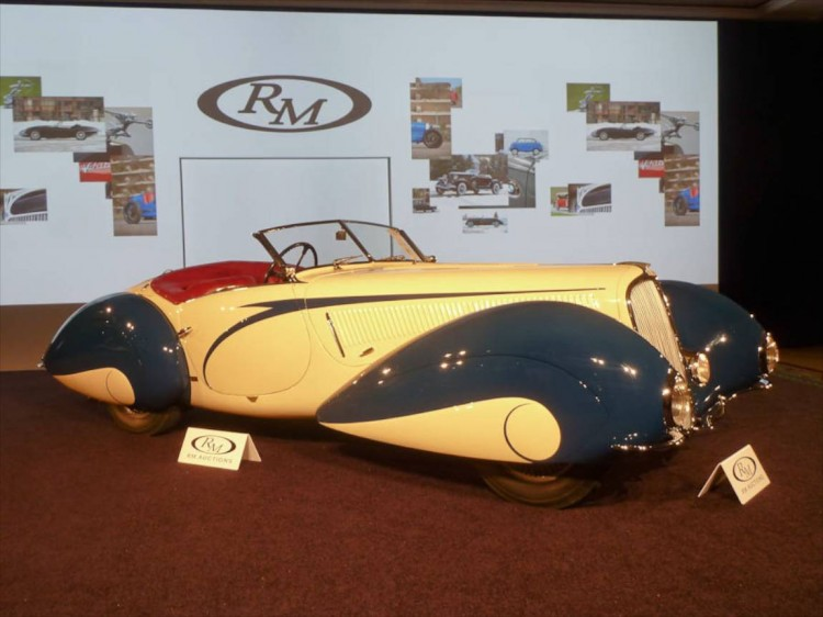 1937 Delahaye 135 Competition Court Torpedo Roadster, Body by Figoni and Falaschi