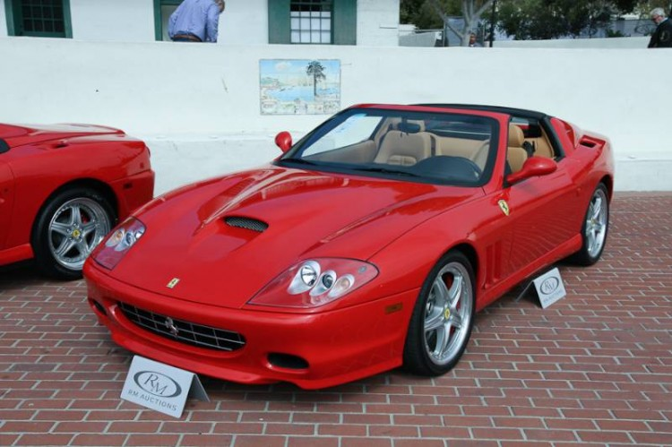 2005 Ferrari 575 Superamerica Barchetta