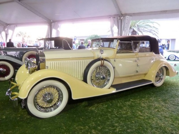 1928 Hispano-Suiza H6C Transformable Torpedo, Body by Hibbard and Darrin