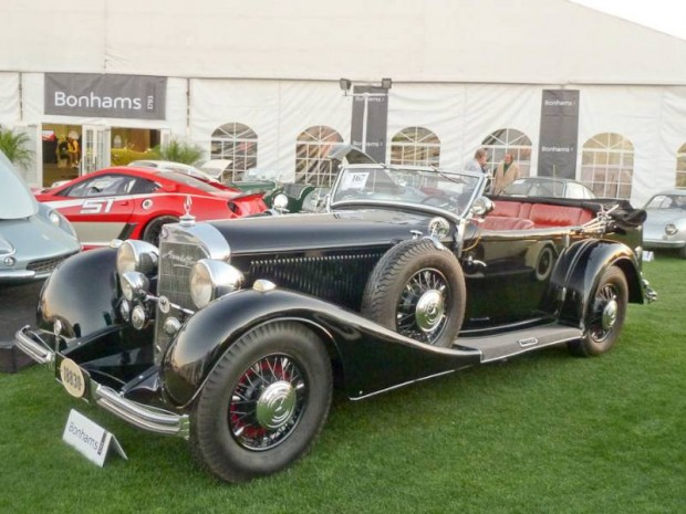 1936 Mercedes-Benz 500K Sports Phaeton, Body by Sindelfingen