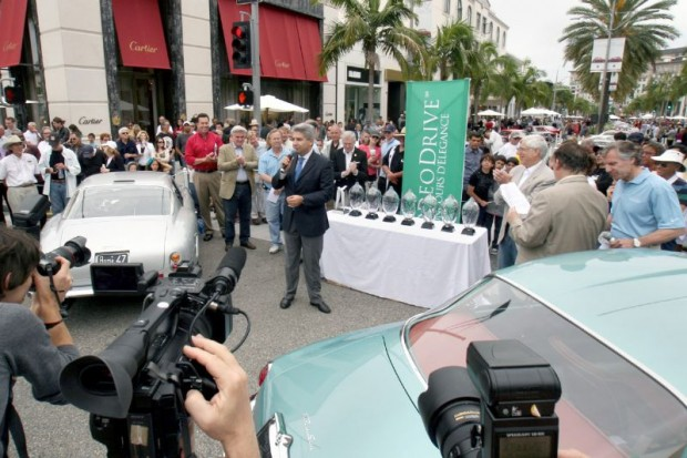 Rodeo Drive Concours Awards Group and names