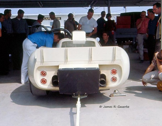 Chaparral 2D luggage box FIA regulations