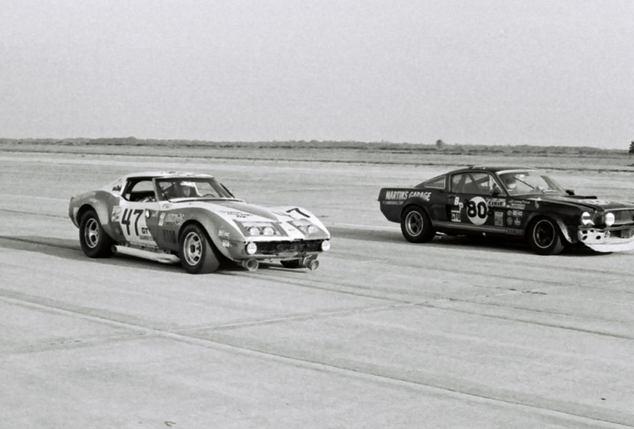 Chevy Corvettes versus Ford Mustangs
