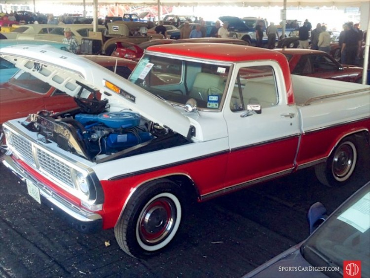 1970 Ford F-100 Sport Custom Styleside Short Bed
