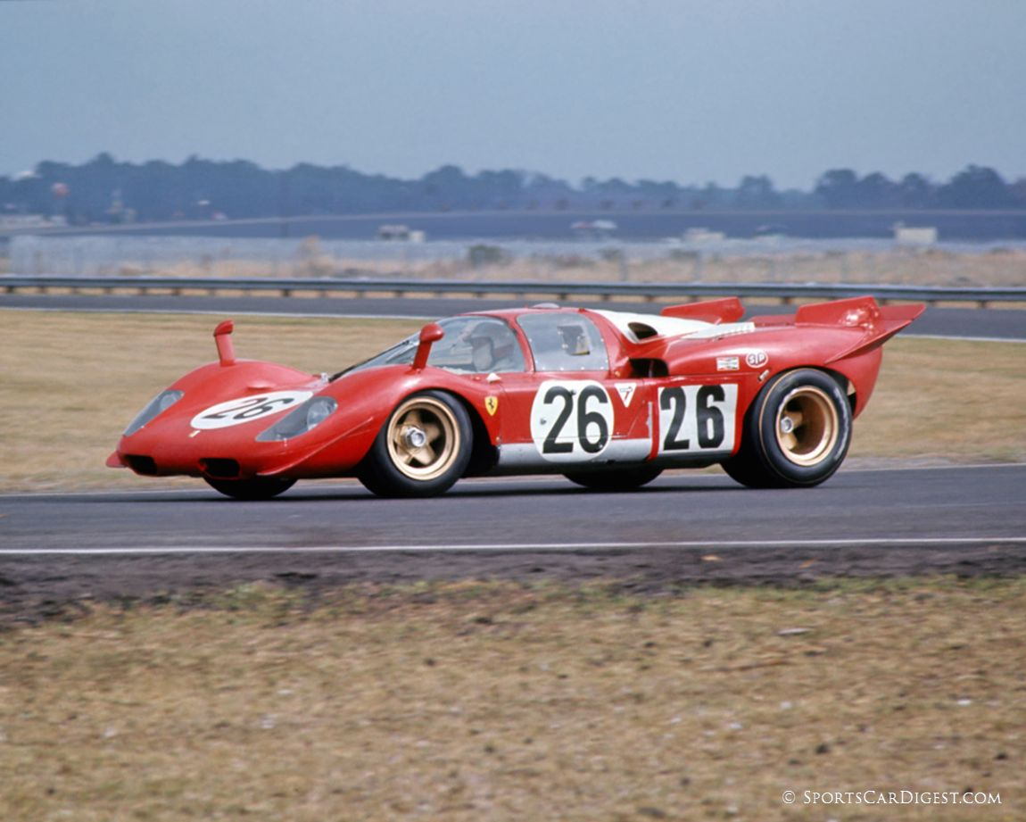 Vaccarella/Giunti 512S suffered overheating problems during practice. (Fred Lewis photo)