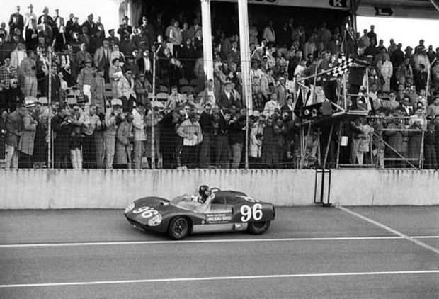 1962 Daytona 3-Hour Continental Sports Car Race checkered flag