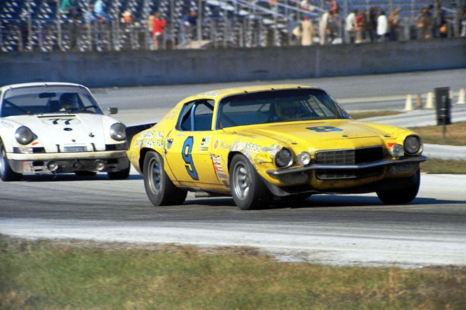 This Z28 Camaro was an entry by some locals from Daytona.  Ray Kessler, Richie Panch and Wilbur Pickett drove the car and finished in seventh place.  Louis Galanos photo.