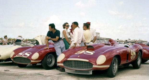Nassau, Bahamas, December 1956.  The Edgar Ferraris: 857S and 410S