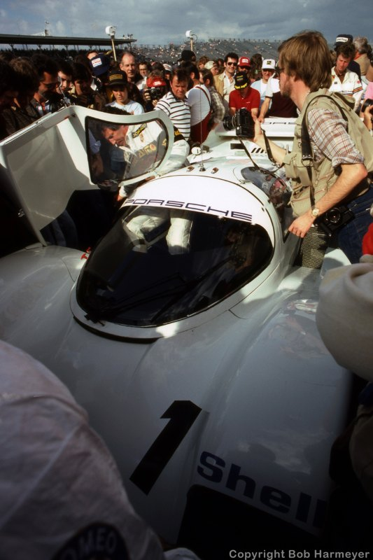 1984 24 Hours of Daytona, Andretti, Porsche 962