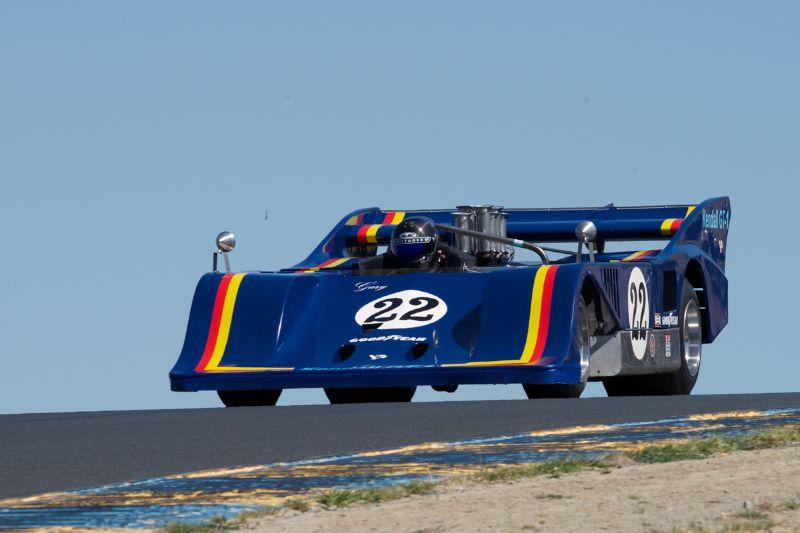 1974 Sting driven by Scott Drenek in three.