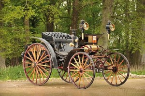 1896 Benz Victoria was the top seller at £221,500