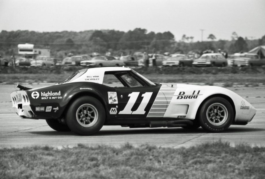 Tony De Lorenzo and Steve Durst led the first four hours in this C3 Corvette.