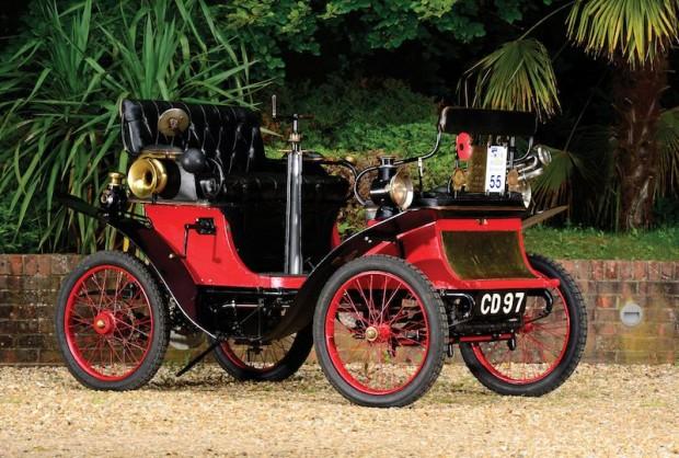 1900 De Dion-Bouton Type E Vis a Vis Voiturette