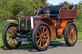 1902 Panhard-Levassor Type A 7hp Rear Entrance Tonneau