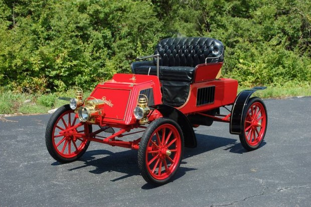 1902 Rambler Model C Runabout brass era