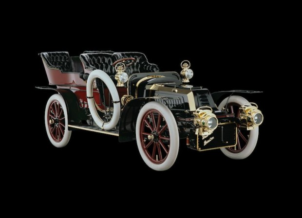 1904 DeDion-Bouton Model ADL Rear-Entry Tonneau