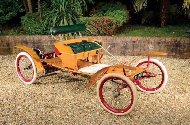 1904 Waltham Orient Buckboard brass era