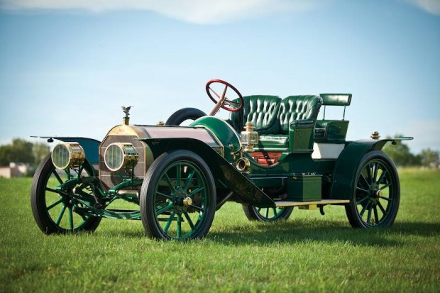 1909 Pierce-Arrow 36 HP Three-Passenger Runabout