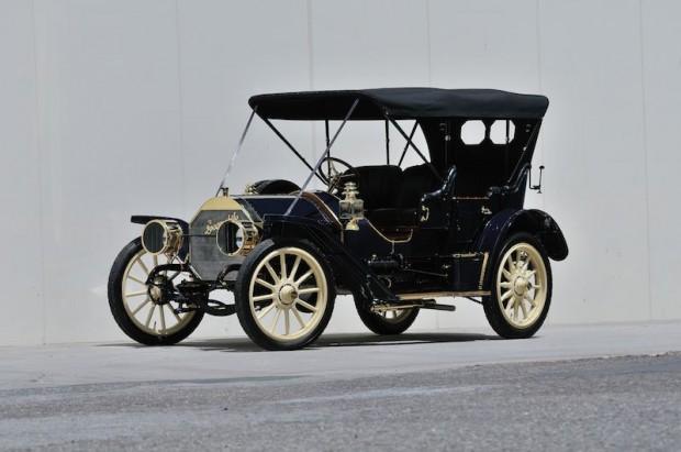 1910 Locomobile Model 40 Type I Demi Tonneau