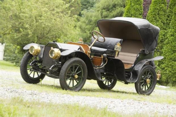 1910 Peerless Model 29 Park Phaeton-Victoria