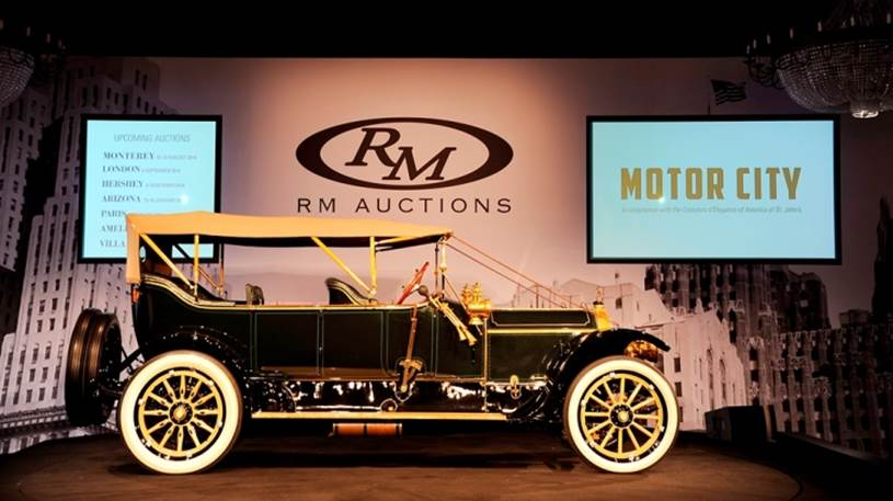 Rm Auctions Motor City 2014 Auction Results