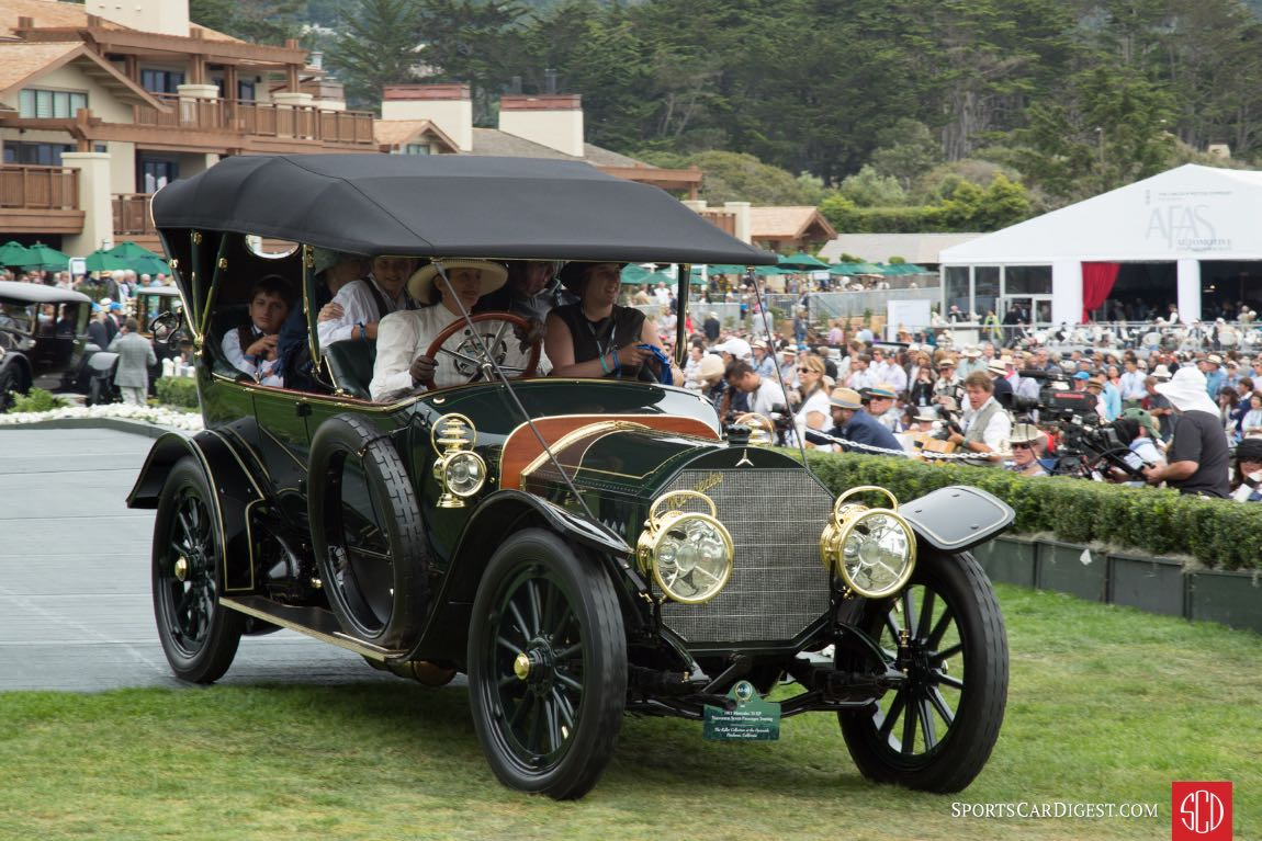 1911 Mercedes 70 HP Vanvooren Touring