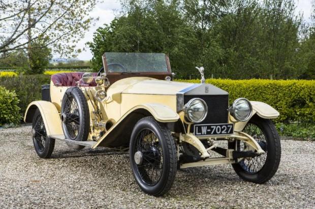 1913 Rolls-Royce 45-50hp Silver Ghost London-to-Edinburgh Tourer