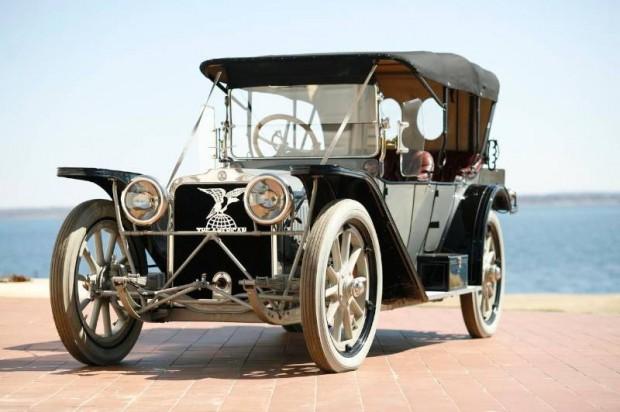 1914 American Underslung Model 644 Four-Passenger Touring