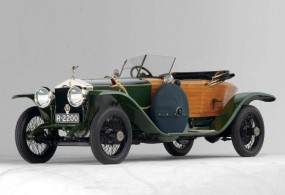 <strong>Lot 268 - 1914 Rolls-Royce Silver Ghost Boat-Tail Skiff - Estimate $750,000-$1,000,000.</strong> Last seen at RM's Scottsdale sale where it failed to sell at high bid of $725,000.