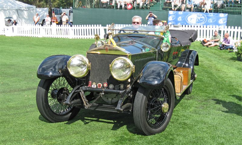 1914 Rolls-Royce Silver Ghost, Tom and Mary Jo Heckman, Newtown Square, PA