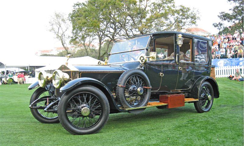 1915 Rolls-Royce Silver Ghost Limousine, John M. O'Quinn Collection, Houston, TX