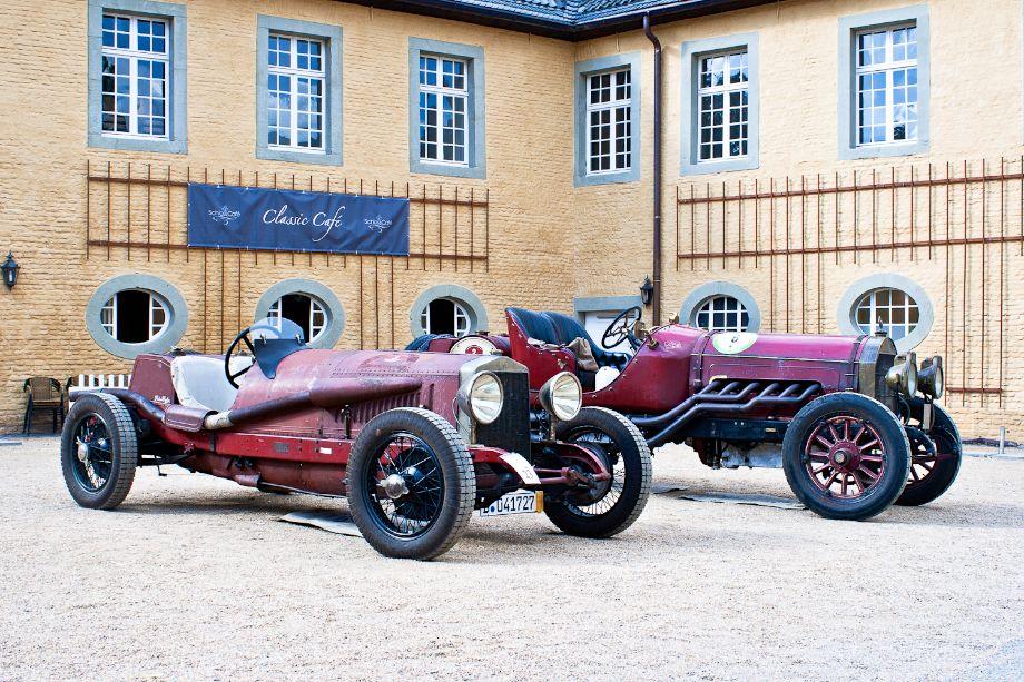 1923 Alfa Romeo RLS and 1916 Locomobile M48 Speed Car