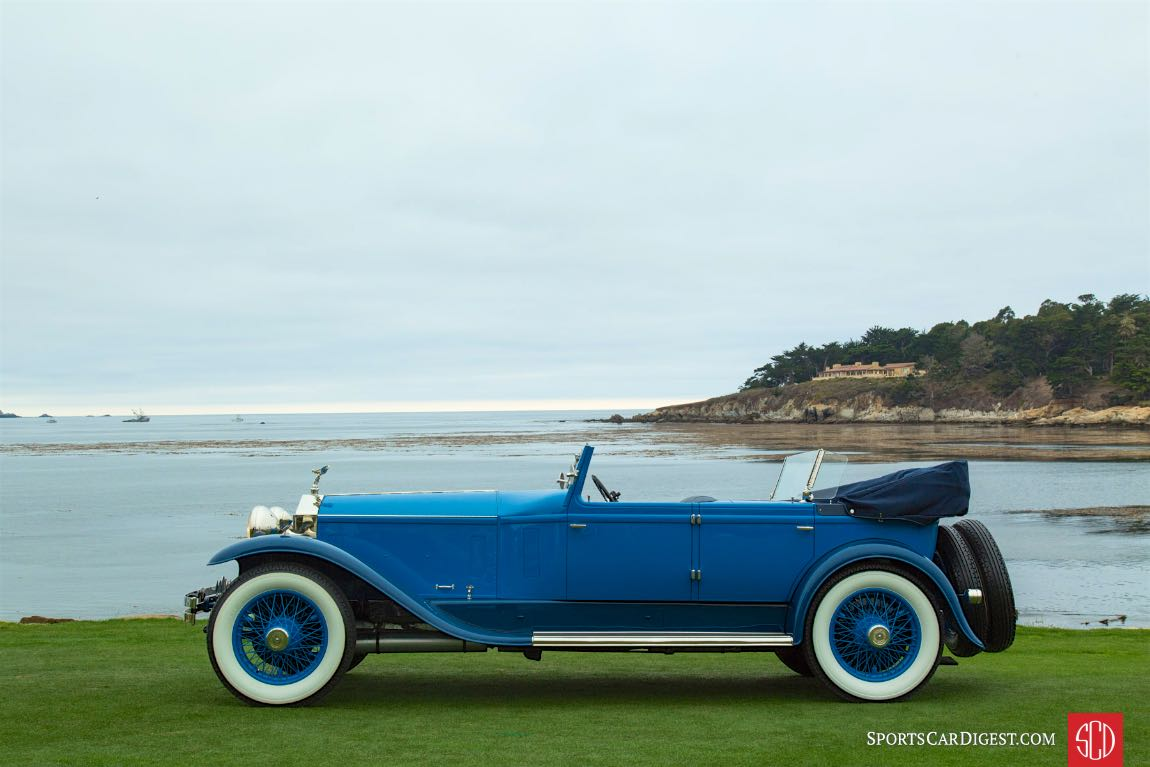 1923 Rolls-Royce Silver Ghost Brewster Convertible Sedan