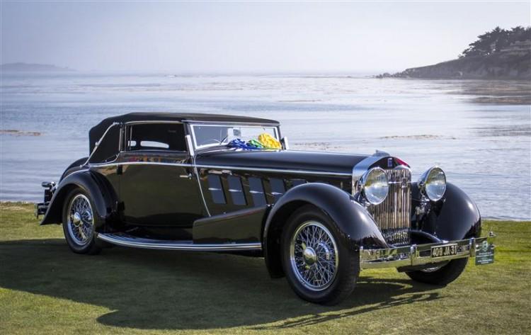 1924 Isotta Fraschini Tipo 8A F. Ramseier and Cie Worblaufern Cabriolet