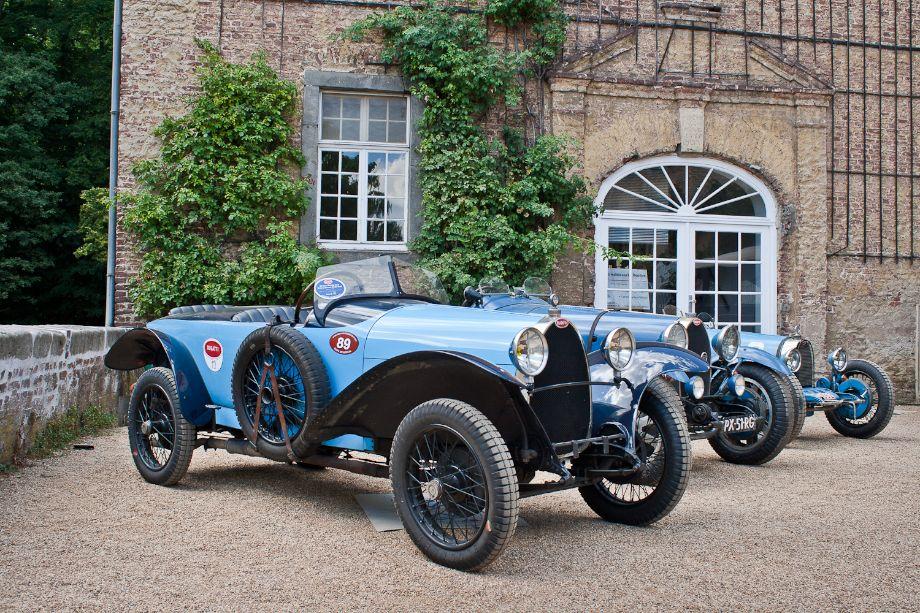 S Bugatti Brescia Sports Car