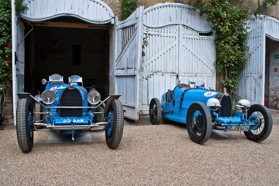 1926 Bugatti Type 35 chassis 37178 and 1927 Bugatti Type 37 Sport chassis 37310