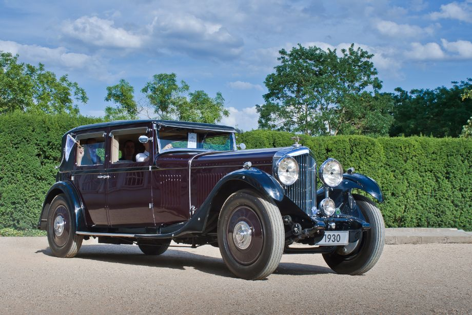 1927 Bentley 8-Litre Limousine with coachwork by H.J. Mulliner