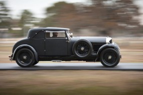 1927 Bentley Speed 6 Coupe side