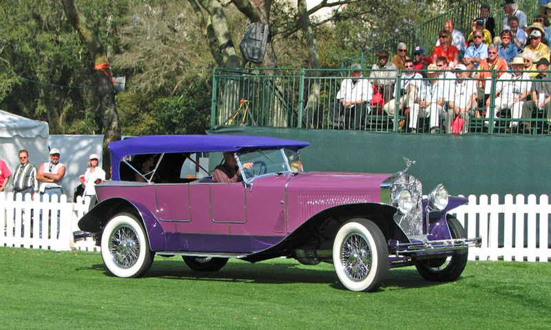 1927 Isotta Fraschini 8A Boattail Tourer, Don and Darby Wathne, Grassy Key, FL