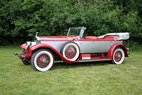 <strong>1928 Rolls-Royce Springfield Phantom I Pall Mall Tourer – Estimate $250,000 - $350,000.</strong> Coachwork by Merrimac Body Company; part of Robert Merrifield Collection.