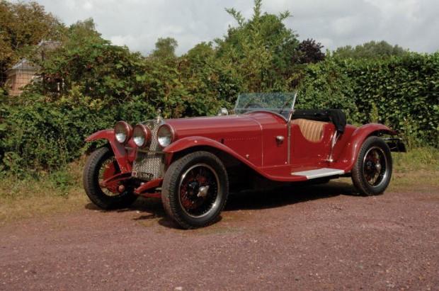 <strong>Lot 239 - 1929 Alfa Romeo 6C 1750 GS - Estimate $800,000-$900,000.</strong>