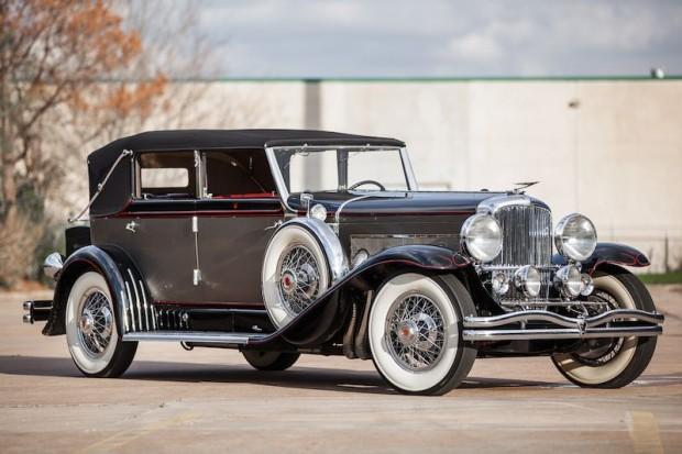 1929 Duesenberg Model J Convertible Berline for sale