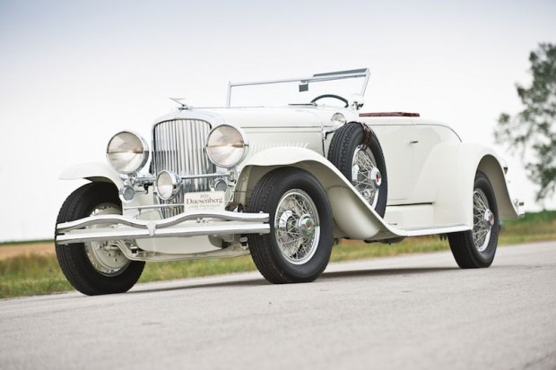1929 Duesenberg Model J Disappearing Top Convertible Coupe for sale